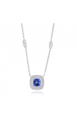 Miss Mimi Blue Sapphire Silver Necklace product image