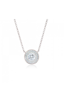 Miss Mimi Heritage Circle Silver Necklace 04-021789-01 product image