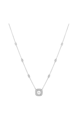 Miss Mimi Heritage Square Silver Necklace 04-021882-01 product image