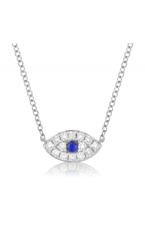 Miss Mimi Evil Eye Silver Necklace 04-023188-01 product image