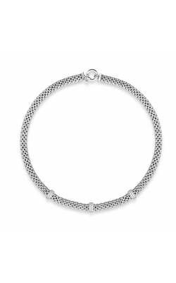 Miss Mimi Bar-Station Silver Necklace 04-082027-01 product image