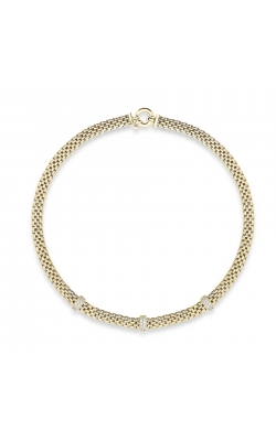 Miss Mimi Bar-Station Silver Necklace 04-082027-02 product image