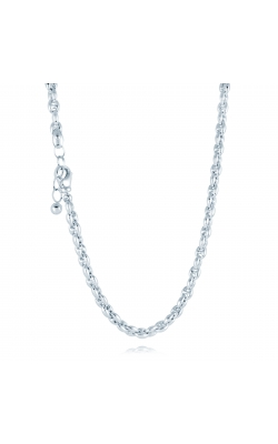 Miss Mimi Coffee Bean Silver Necklace 04-082760-01 product image