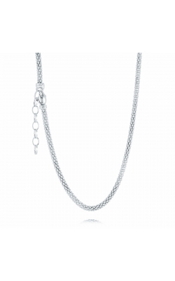 Miss Mimi Popcorn Silver Necklace 04-082989-01 product image