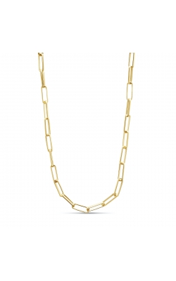 Miss Mimi Silver Paper Clip Necklace 21in 04-403614-02 product image