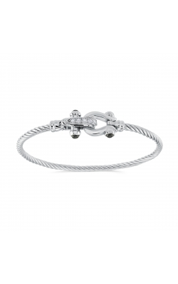 Miss Mimi Silver Equestrian Bangle 07-082770-01 product image
