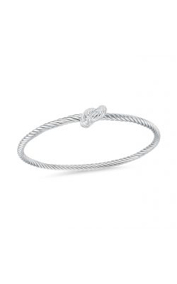 Miss Mimi Love Knot Silver Bangle 07-082771-01 product image