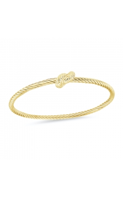 Miss Mimi Love Knot Silver Bangle 07-082771-02 product image