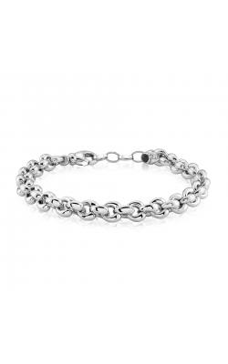 Miss Mimi Heart Link Silver Bracelet 07-082993-01 product image