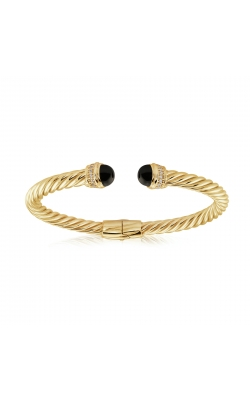 Miss Mimi Silver Twist Bangle 07-083491-02/BK product image