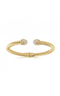 Miss Mimi Silver Twist Bangle 07-083491-02/MS product image