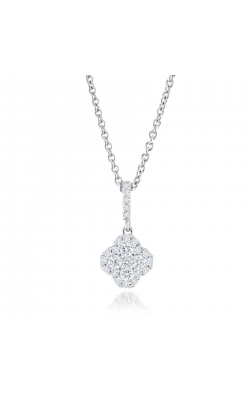 Miss Mimi Clover Silver Necklace 09-021485-01 product image