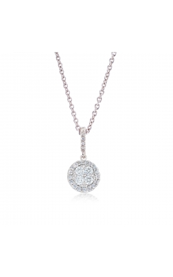 Miss Mimi Circle Silver Necklace 09-022059-01 product image