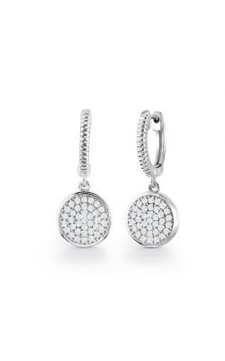 Miss Mimi Round Drop Silver Earrings 13-021346 product image