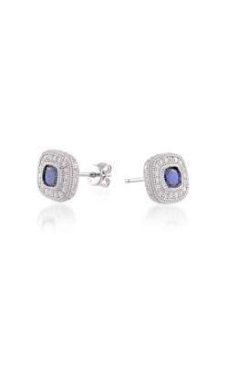 Miss Mimi Heritage Cushion Sapphire Stud Earrings 13-021788 product image