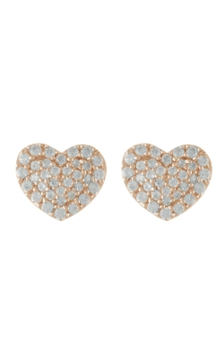 Miss Mimi Heart Silver Stud Earrings 13-021873-03 product image