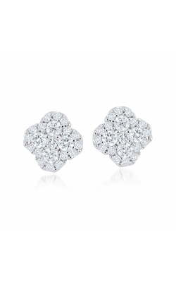 Miss Mimi Clover Silver Stud Earrings 13-021876-01 product image