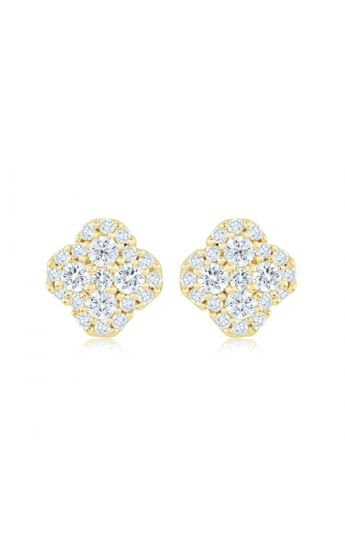 Miss Mimi Clover Silver Stud Earrings 13-021876-02 product image