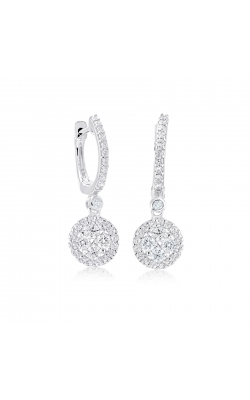 Miss Mimi Heritage Round Drop Silver Earring 13-022059 product image