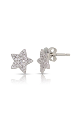 Miss Mimi Star Silver Stud Earrings 13-022923-01 product image