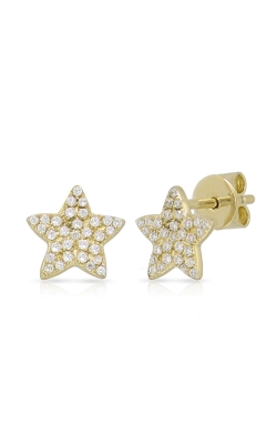 Miss Mimi Star Silver Stud Earrings 13-022923-02 product image