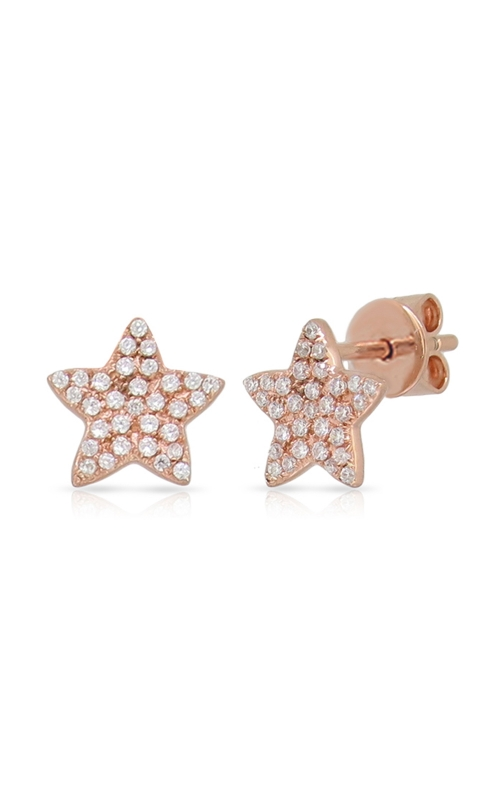 Miss Mimi Star Silver Stud Earrings 13-022923-03 product image