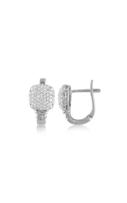 Miss Mimi Mini Pave Silver Earrings 13-023150 product image