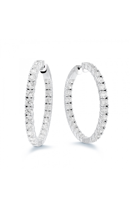 Miss Mimi CZ 43mm Hoop Earrings 13-142790-01 product image