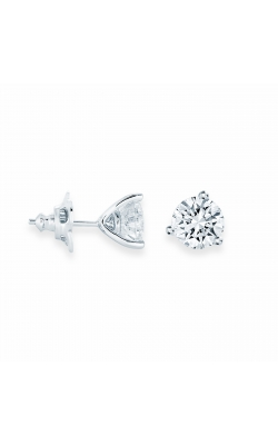 Miss Mimi Silver Stud 2ct CZ Earrings 13-142797-01 product image