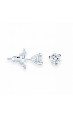 Miss Mimi Silver Stud 0.50ct CZ Earrings 13-142800-01 product image