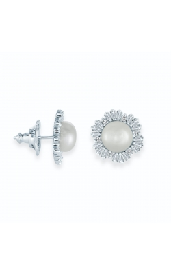 Miss Mimi Snowflake Fresh Water Pearl Stud Earrings 13-202942-01 product image