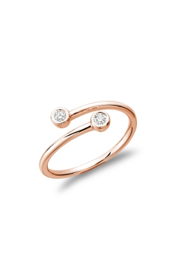 RNB Double Bezel Crossover Diamond Ring 02-04CX10R product image