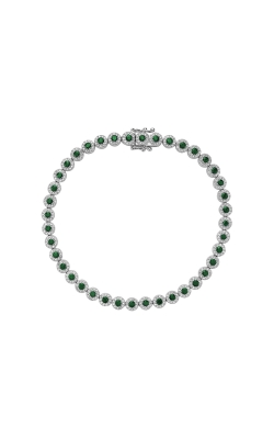 RNB Emerald and Diamond Bracelet 04-04MCEM product image