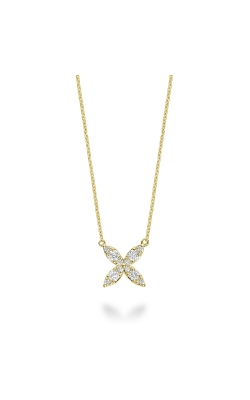 RNB Marquise Flower Diamond Necklace 08-04MR20Y product image