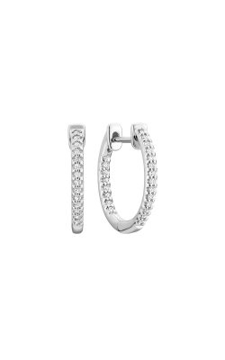 RNB Inside-Out Pave Diamond Hoop Earrings 13-040014 product image