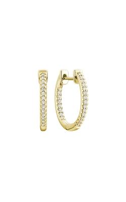 RNB Inside-Out Pave Diamond Hoop Earrings 13-040014Y product image
