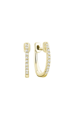 RNB Diamond Huggie Hoop Earrings 13-040080Y product image