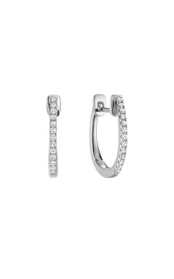 RNB Diamond Huggie Hoop Earrings 13-040081 product image