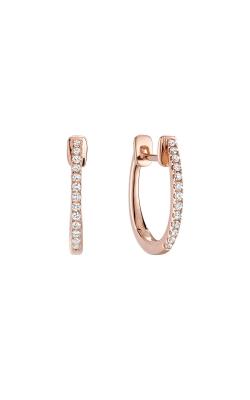 RNB Diamond Huggie Hoop Earrings 13-040081R product image