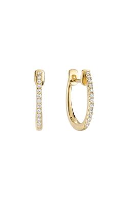 RNB Diamond Huggie Hoop Earrings 13-040081Y product image