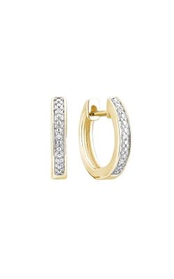 RNB Diamond Channel-Set Hoop Earrings 13-040210Y product image