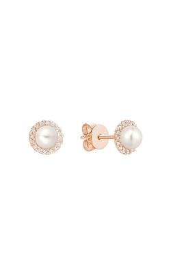 RNB Diamond & Pearl Stud Earrings 13-04PL10R product image