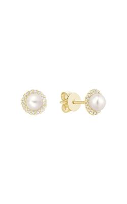 RNB Diamond & Pearl Stud Earrings 13-04PL10Y product image