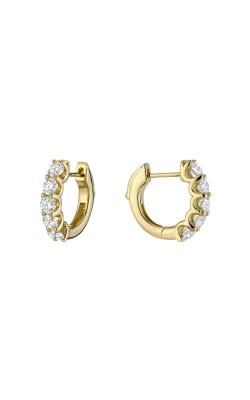 RNB Diamond Hoop Earrings 13-04UP100Y product image