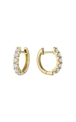 RNB Diamond Hoop Earrings 13-04UP75Y product image