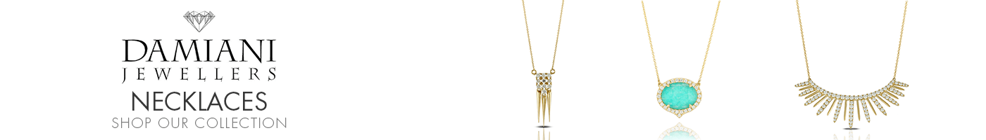 Necklaces at Damiani Jewellers