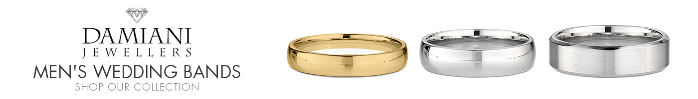 Men's Wedding Bands at Damiani Jewellers