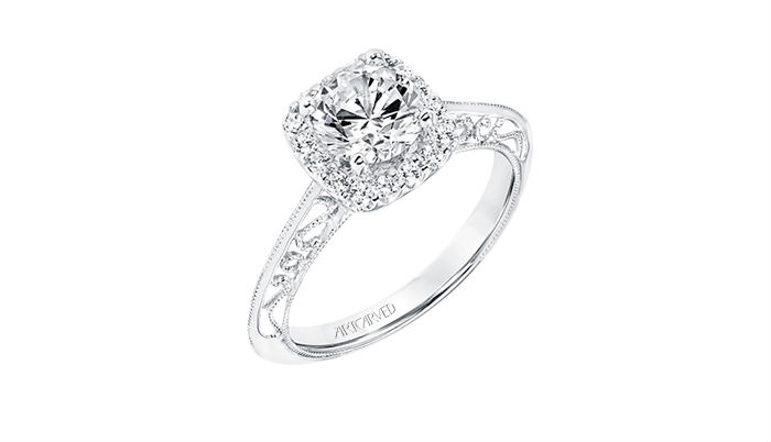 ArtCarved Vintage Collection Engagement Rings