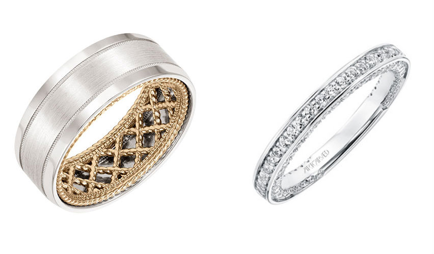 ArtCarved Wedding Band Collection